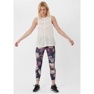 Sweaty Betty Linen Flow Vest Tank